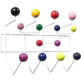 VITRA HANG IT ALL MULTI COAT RACK BY CHARLE & RAY EAMES
