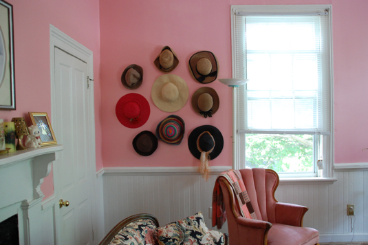 A hat display