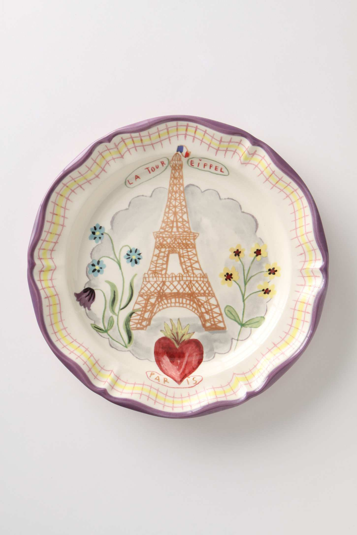 Anthropologie dinner plate