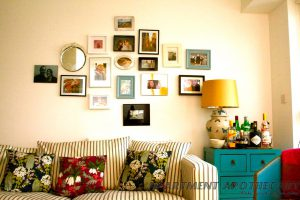 Collection of framed photographs
