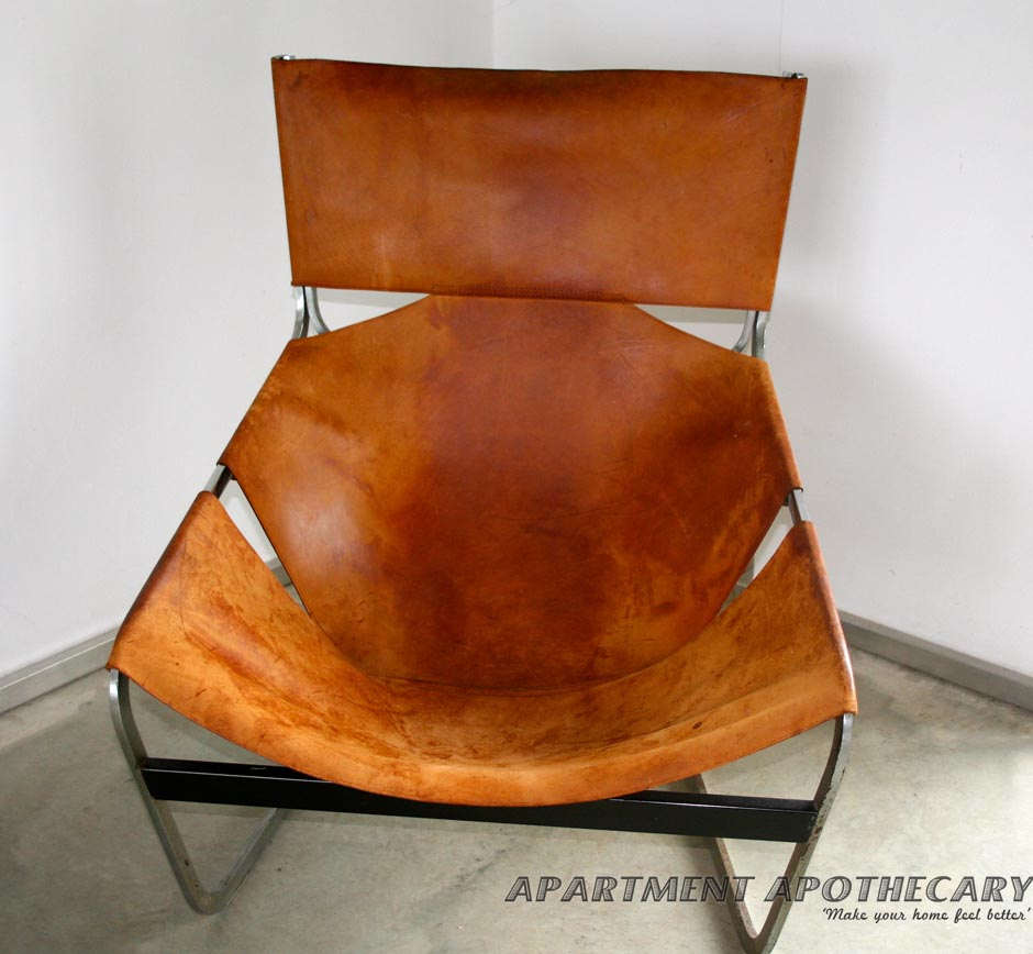 Leather retro chair