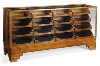 Vintage haberdashery drawers