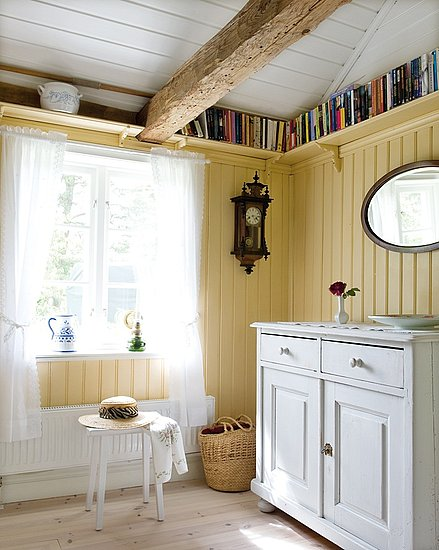 Ceiling height high book shelves