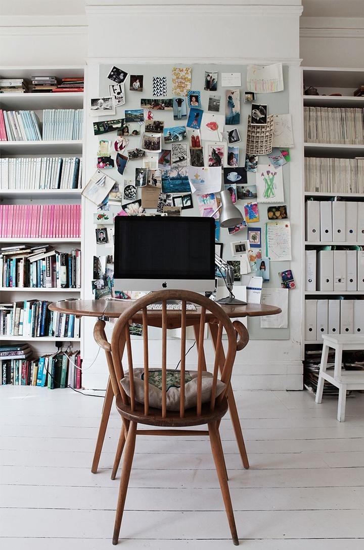 Home office Ercol desk