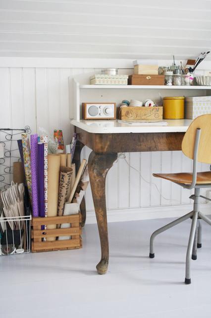 Vintage work space