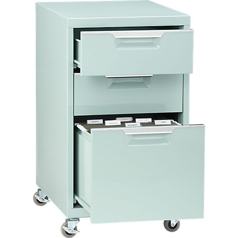 stylish filing cabinet