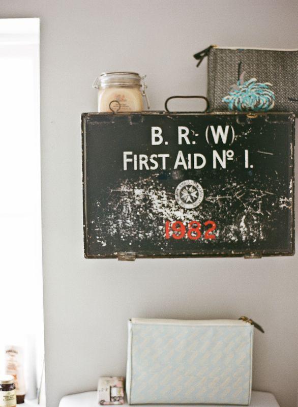 Lisa Levis (nee Stickley) vintage bathroom cabinet