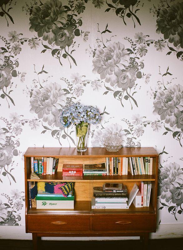 Lisa Levis (nee Stickley) bedroom retro sideboard