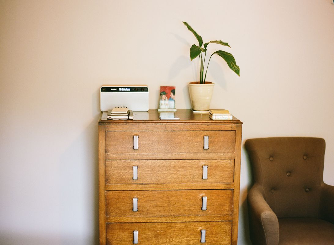 Lisa Levis (nee Stickley) bedroom retro chest of drawers