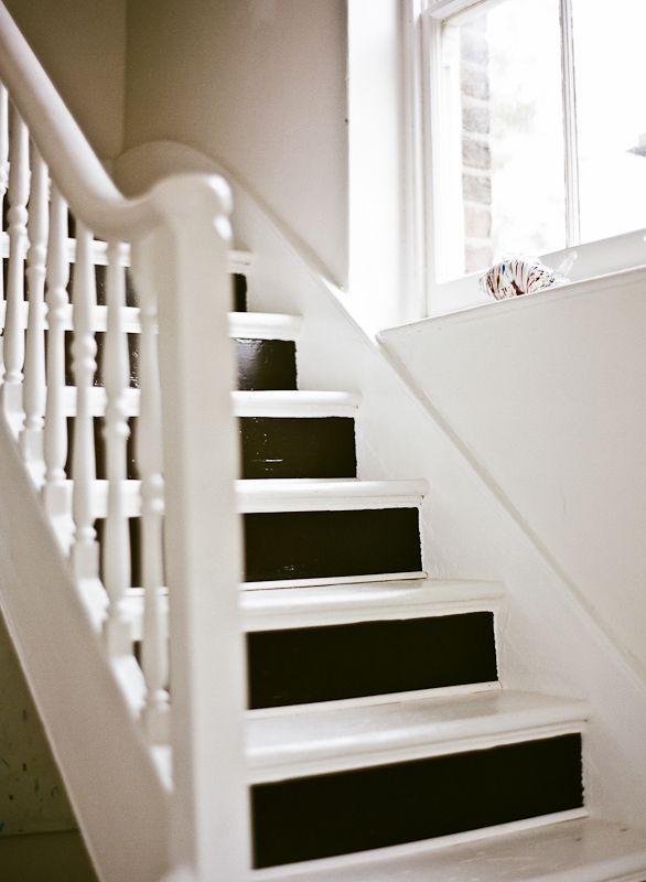 Lisa Levis (nee Stickley) painted stairway