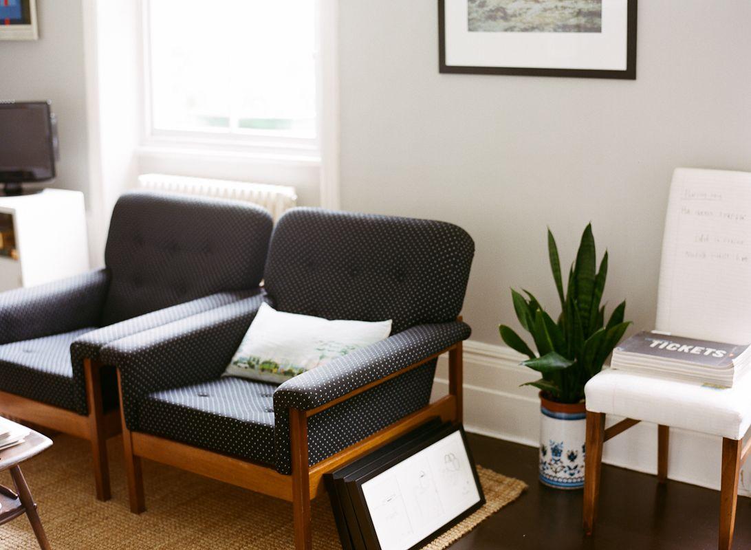Lisa Levis (nee Stickley) interior design retro armchairs