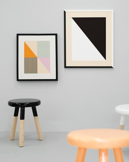 Furniture makeover Malmo stool