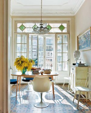 Eclectic French apartment