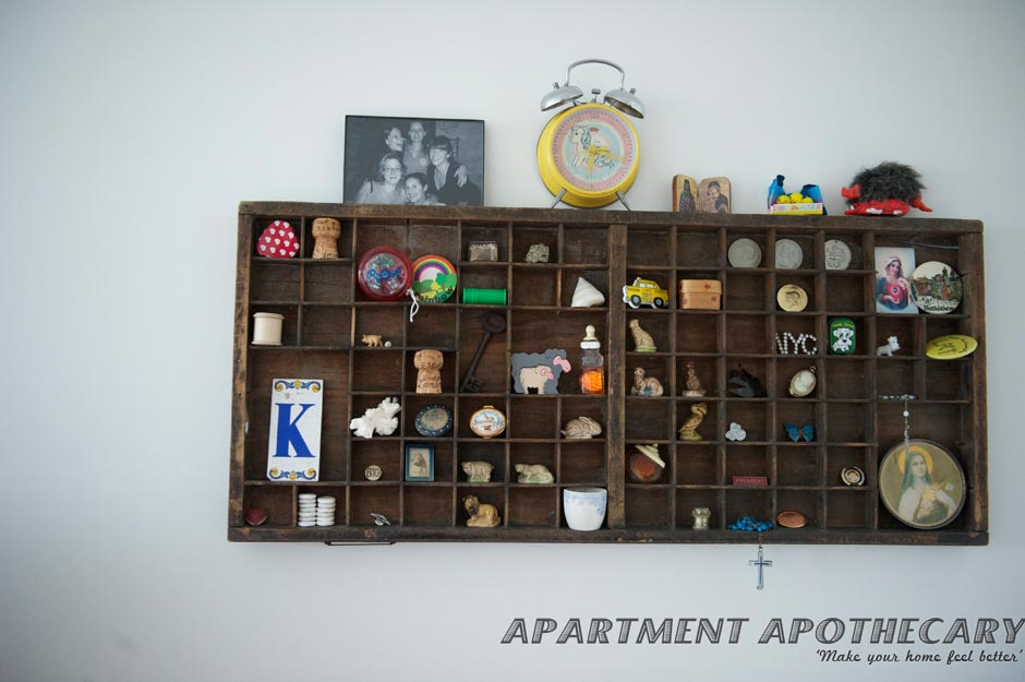 Letterpress drawers – Apartment Apothecary
