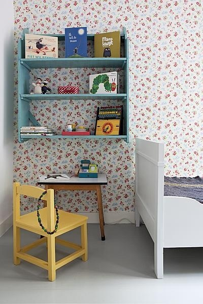 Painted nursery furniture