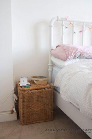 Bedroom makeover before shot