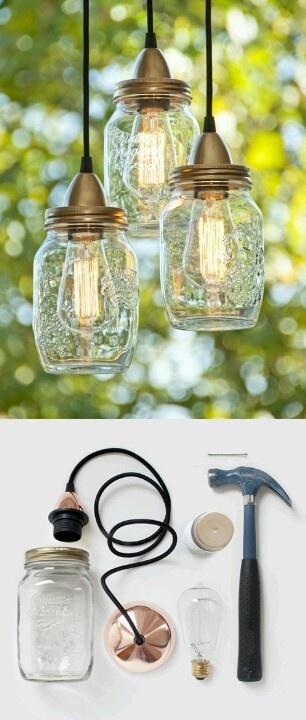 Mason jar lights by in.gredients