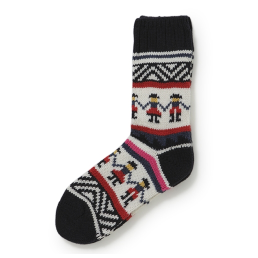Folk clothing Fairisle socks - a crafter's perfect stocking www.apartmentapothecary.com