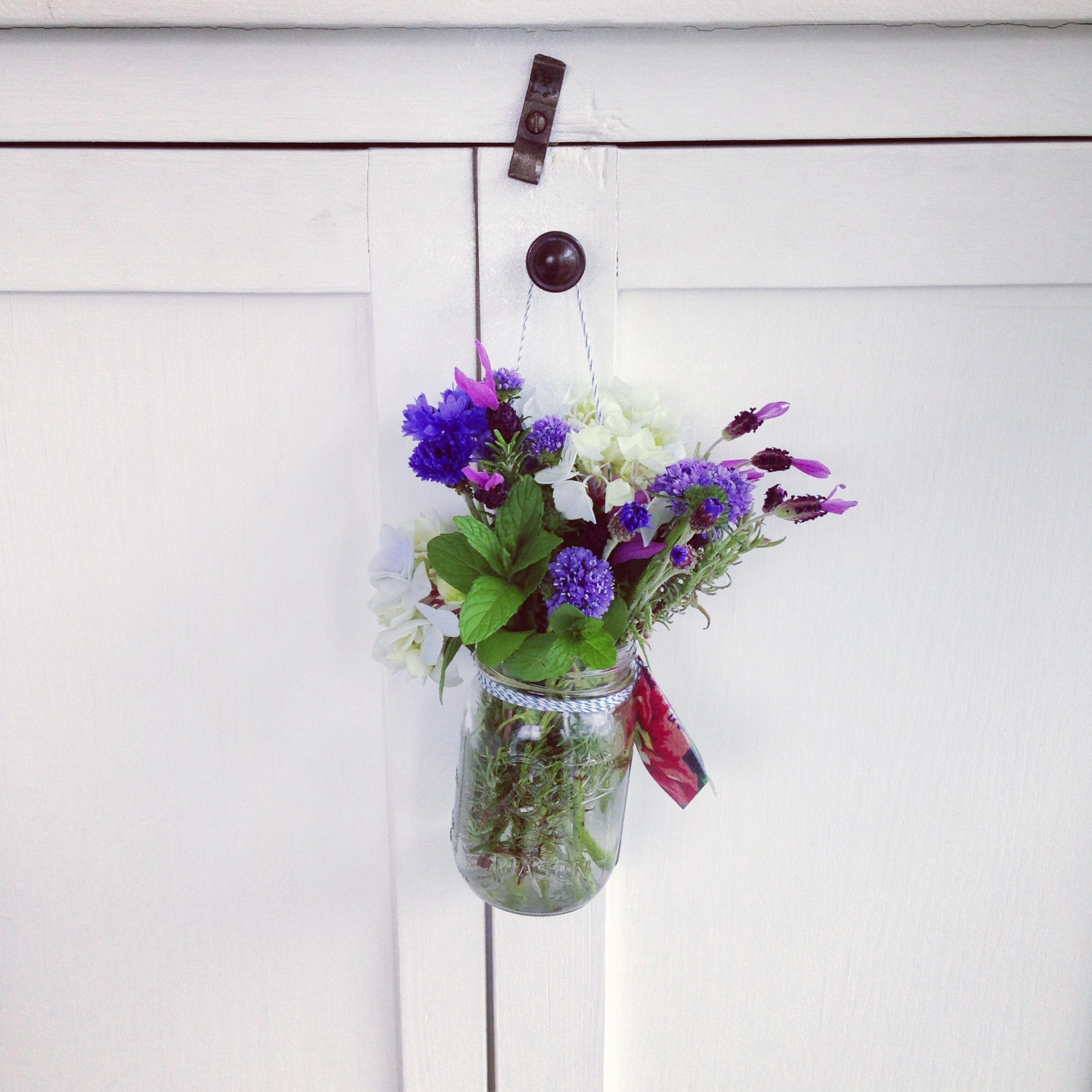 May Day posie of hand-picked flowers www.apartmentapothecary.com