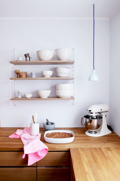 String shelving system by Nils Strinning www.apartmentapothecary.com