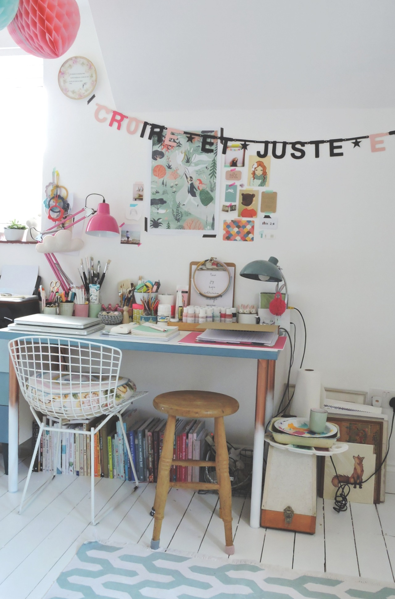 Weekend inspiration - workspace | Apartment Apothecary