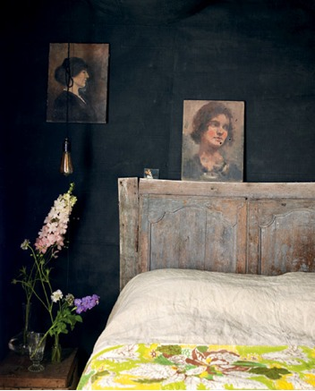 Bedroom decor inspiration from Littlegreenshed on Apartment Apothecary