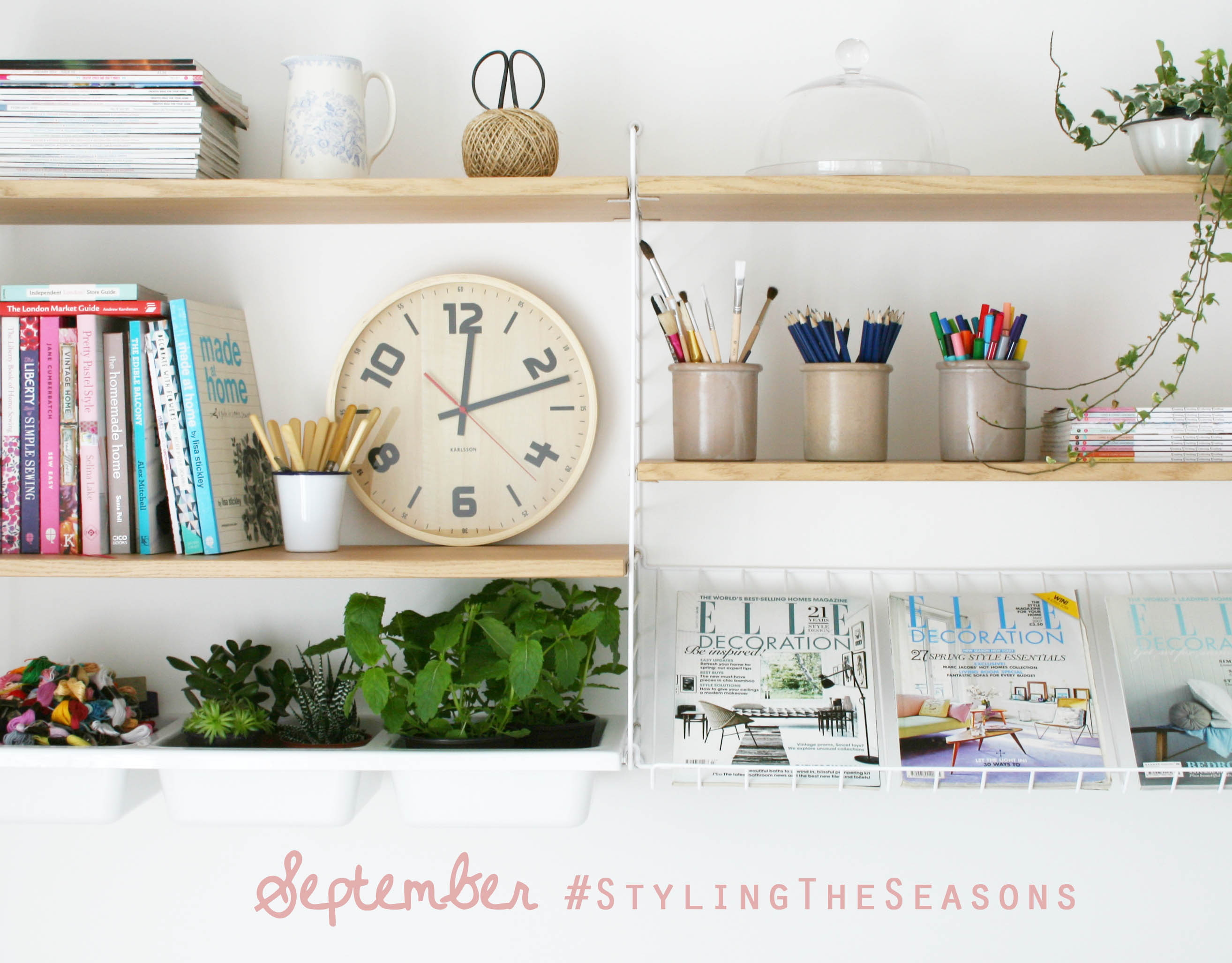 Styling the Seasons SEPTEMBER by Apartment Apothecary