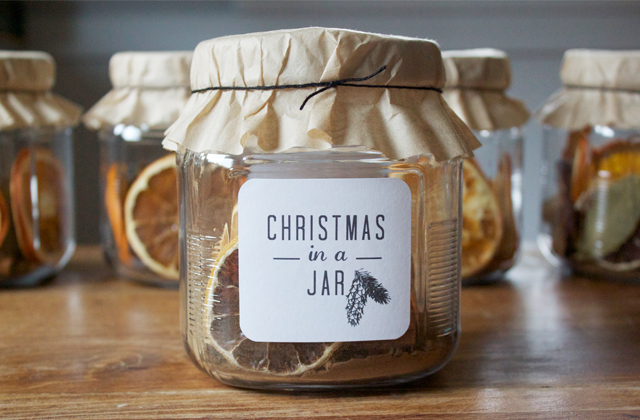 Homemade Christmas presents | Apartment Apothecary