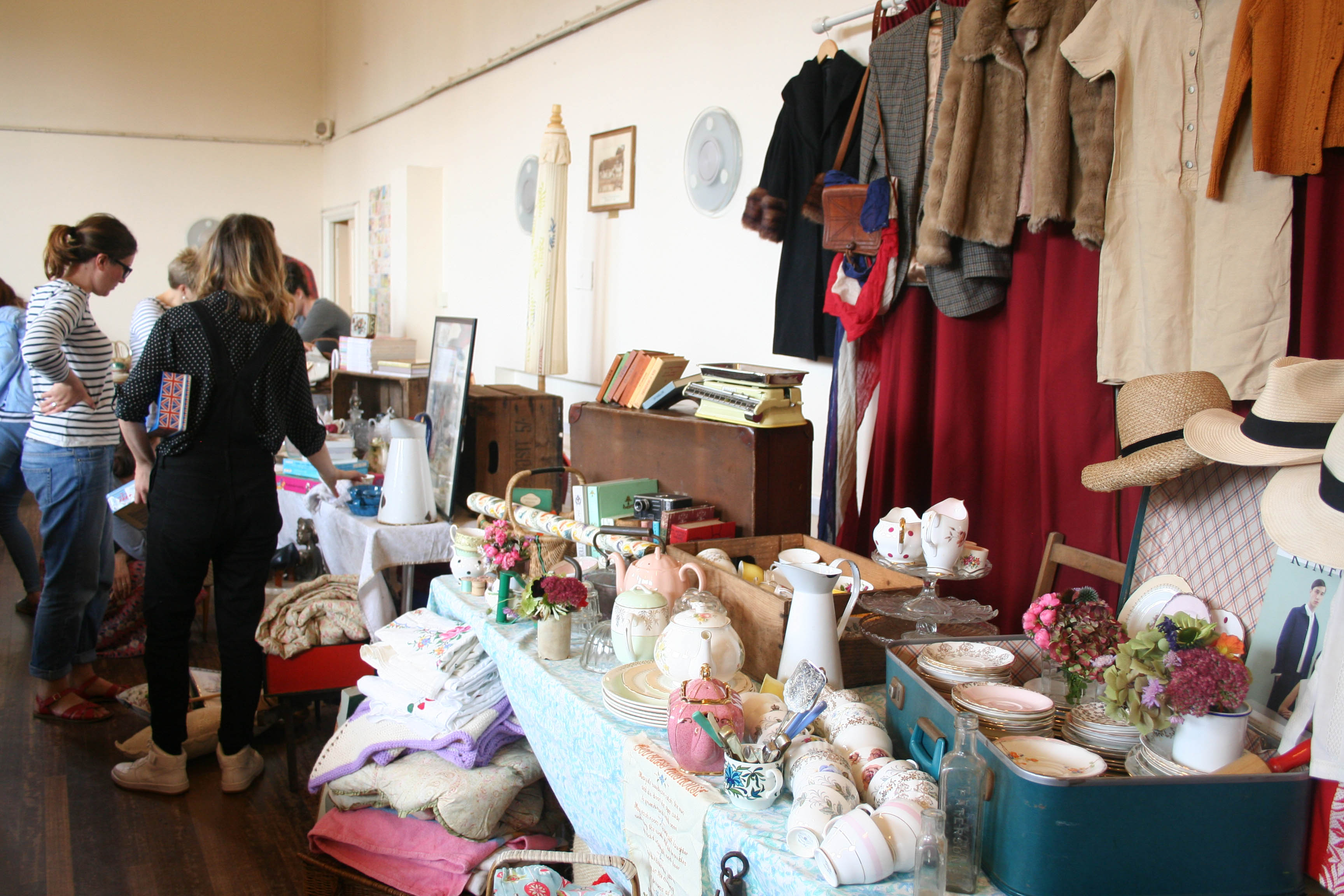 Vintage Jumble Sale | Lindfield, Sussex | King Edward Hall