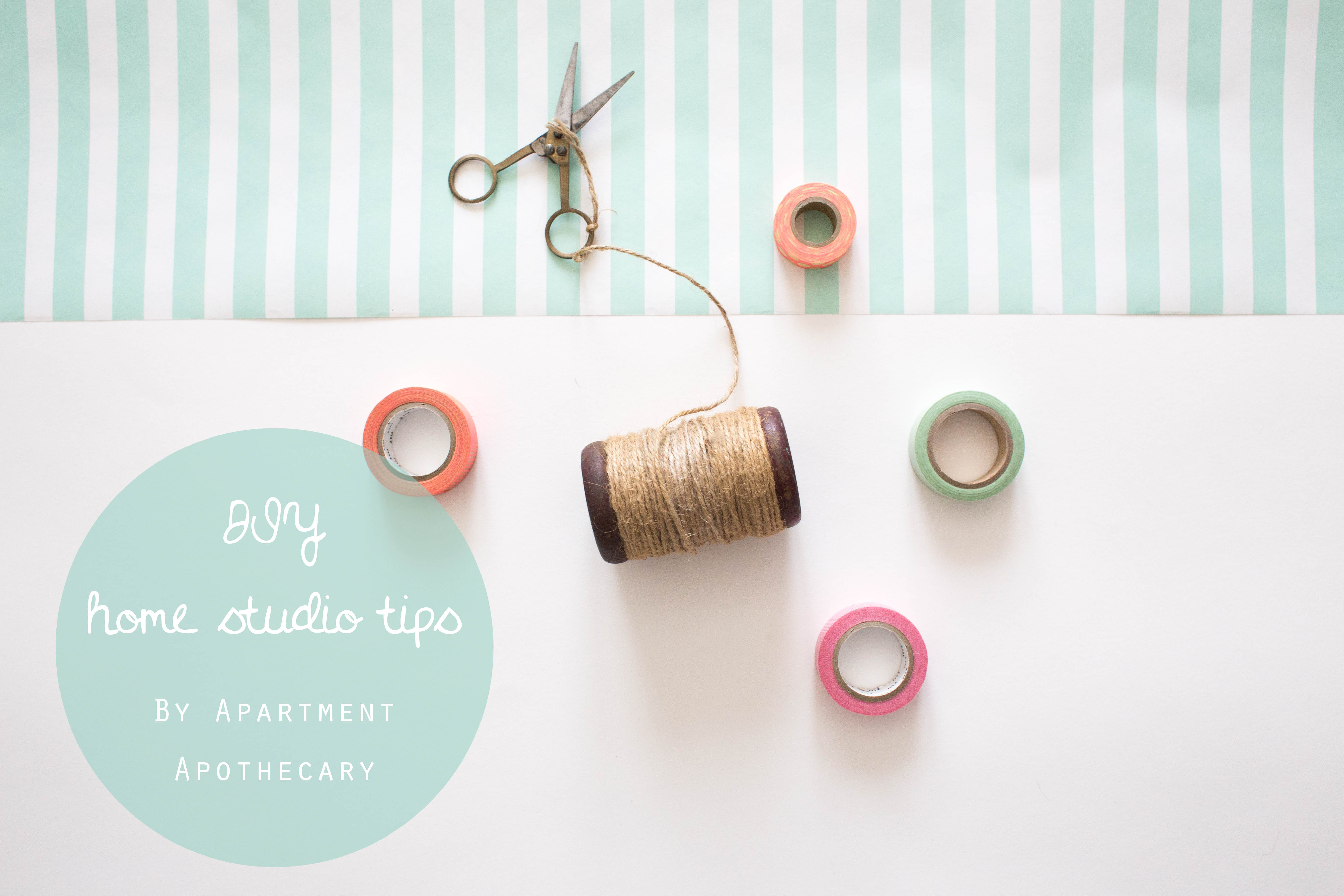 DIY home studio for blog posts | Quick fix home studio tips | Taking photographs for blog posts | Apartment Apothecary