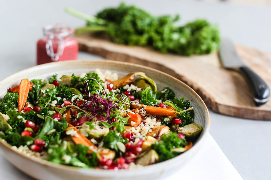 #EATWELL campaign with Robert Welch | Recipe by Georgina Davies |January Superfood Salad