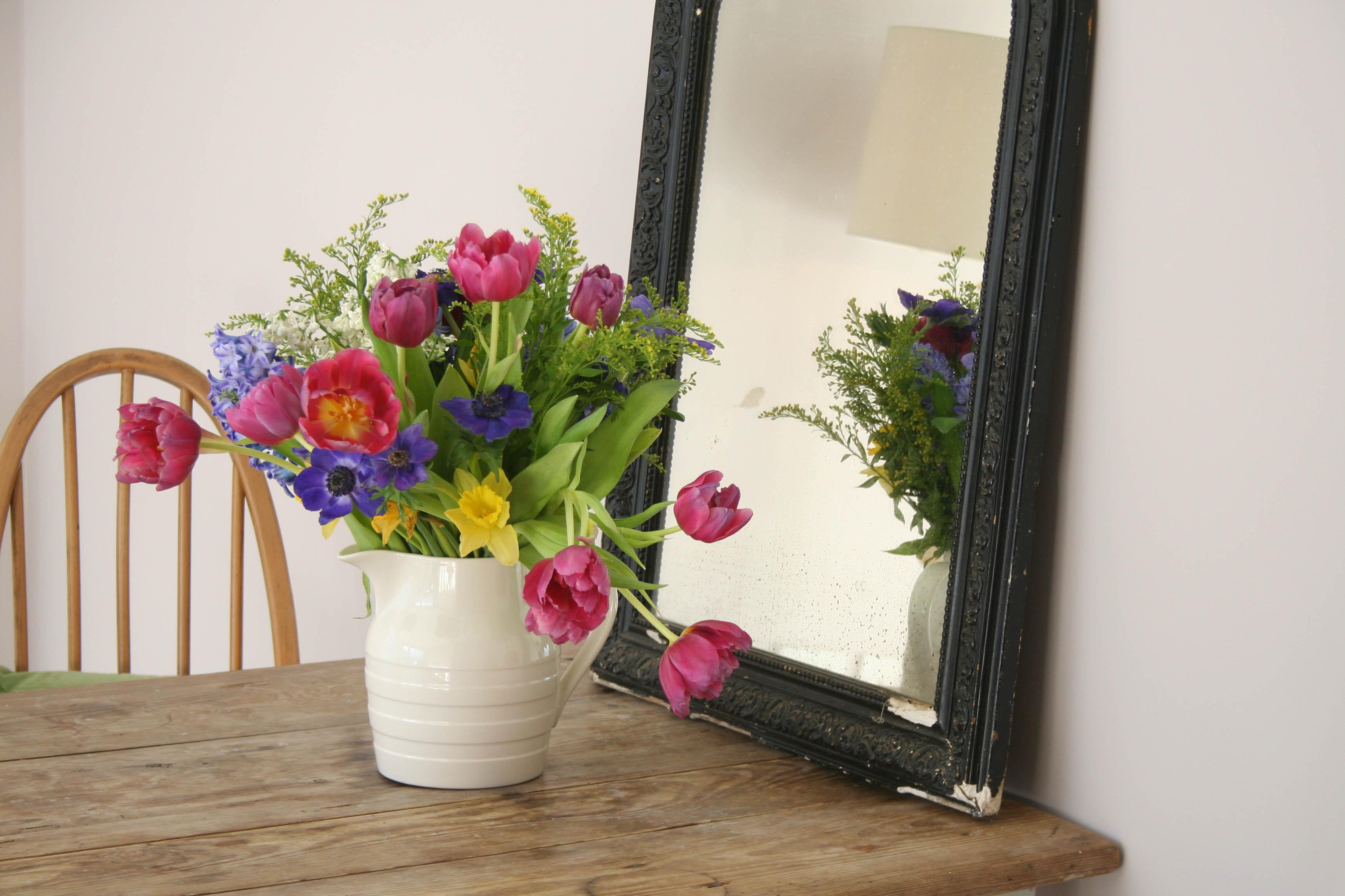 Styling the Seasons - February | New Farrow & Ball colour - Peignoir | Apartment Apothecary