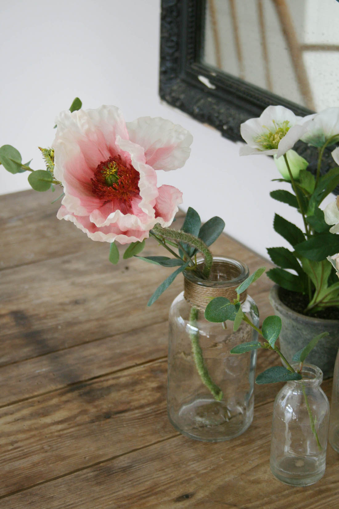 SS/16 styling with B&Q | Meadow | Flowers in vintage bottles | Apartment Apothecary