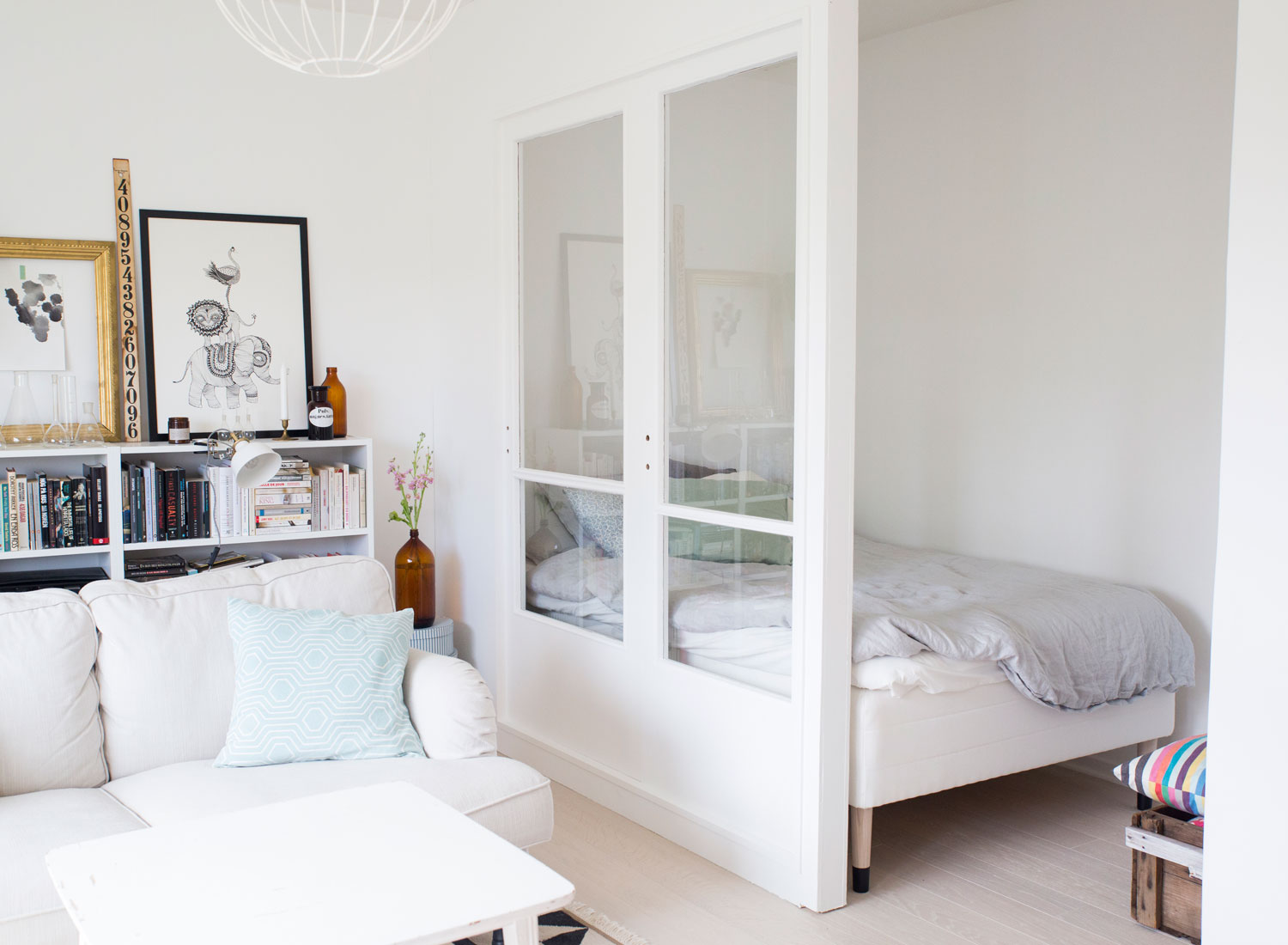 Studio apartment | Home of Emmy Lundström | Ennui blog