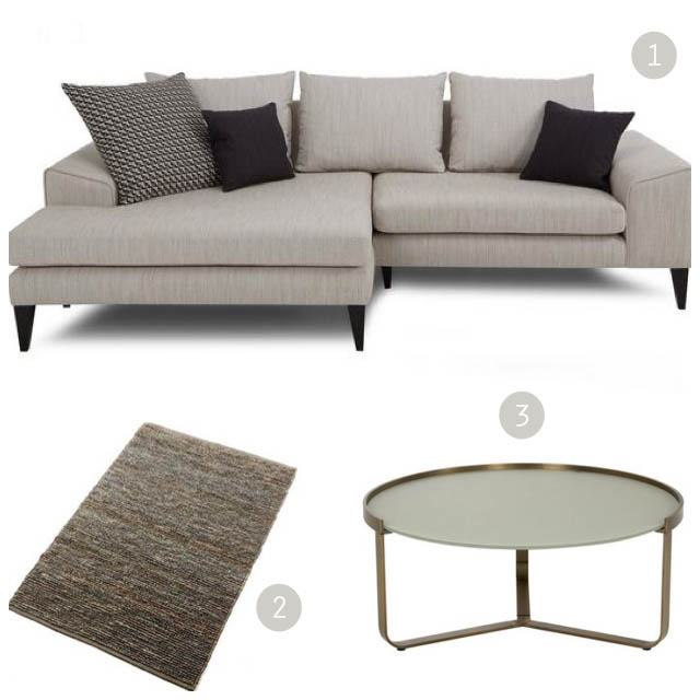 DFS Quartz sofa | Mid-century style | Win a living room makeover | French Connection sofas | Apartment Apothecary