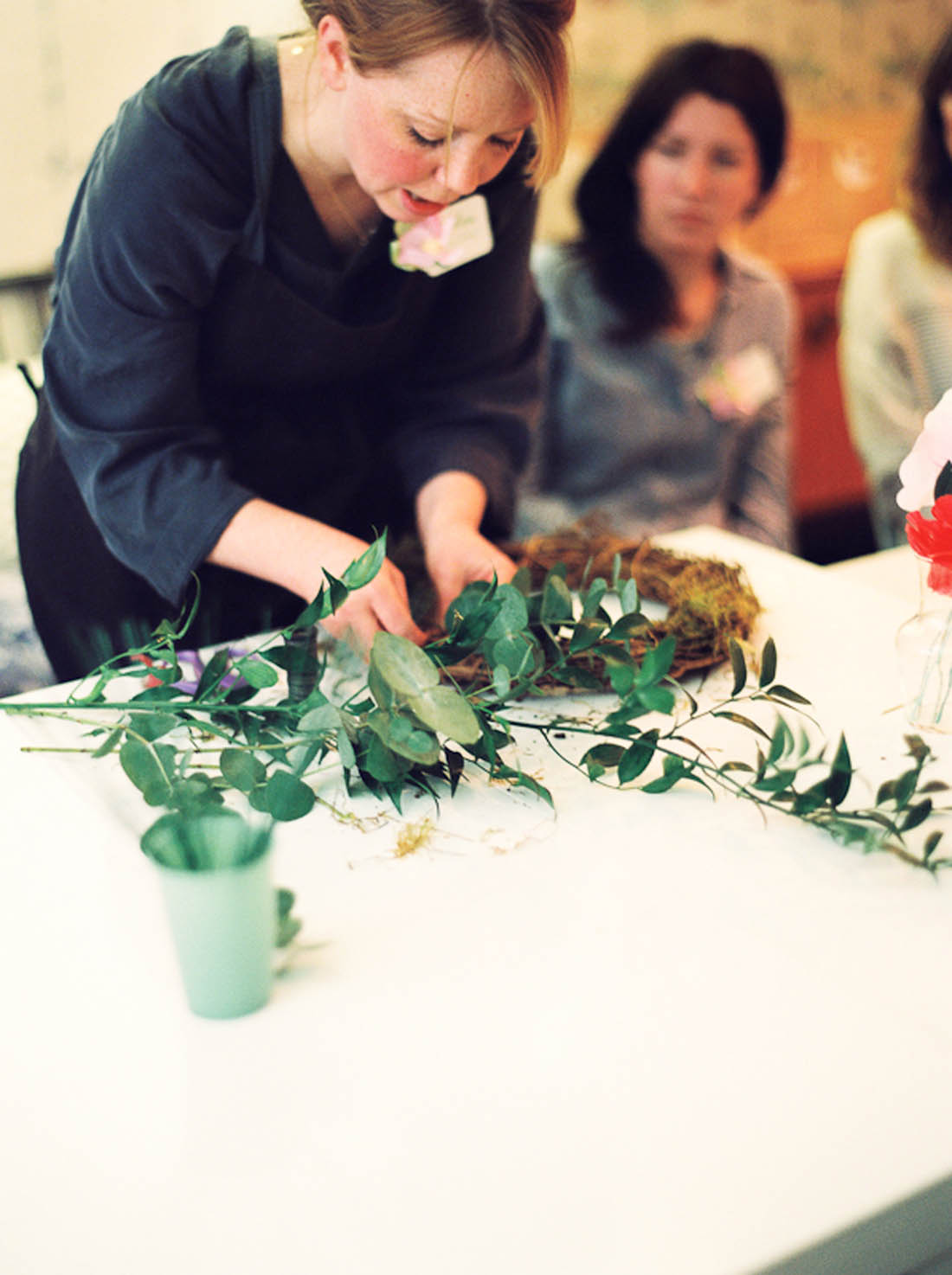 Photograph by katharinepeachey.co.uk | Spring wreath making | Apartment Apothecary