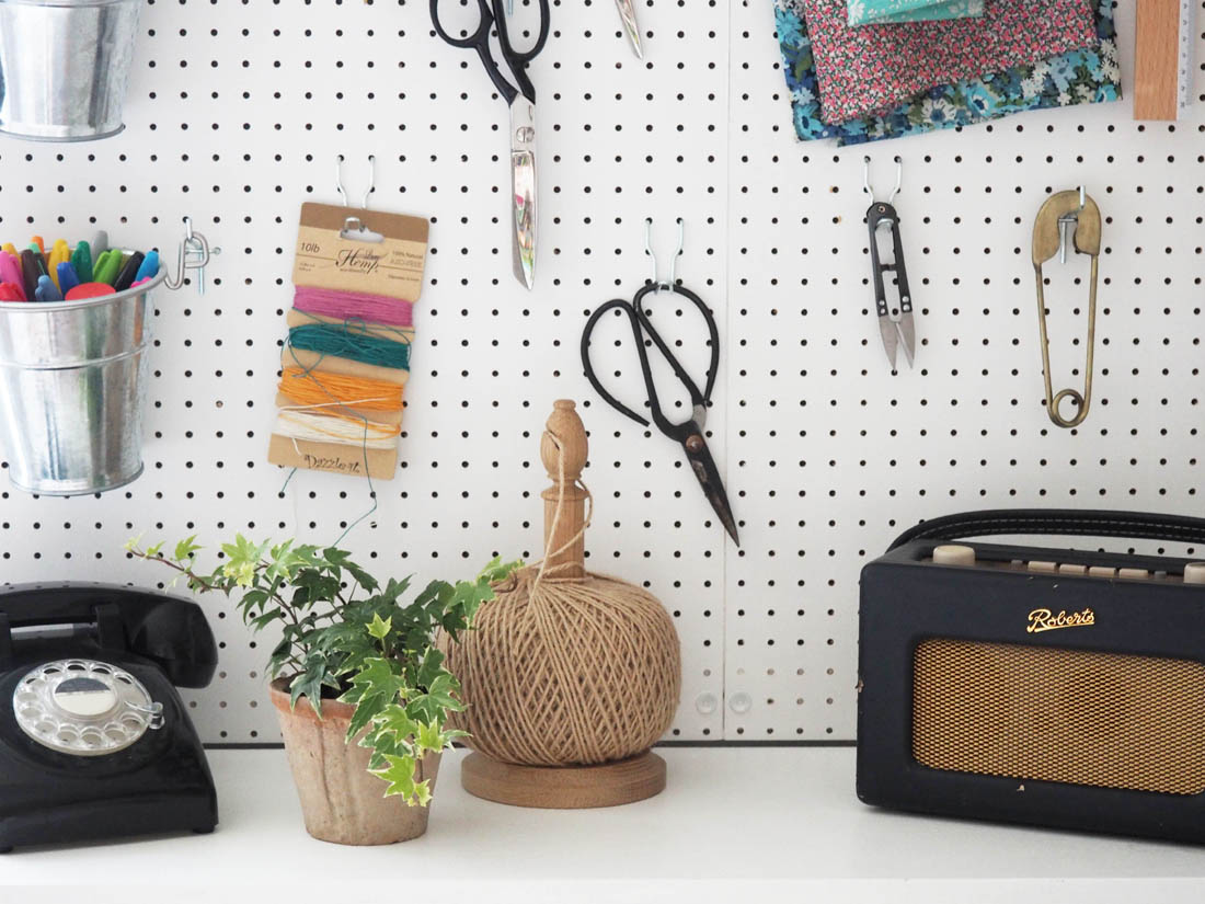 DIY pegboard | how to mount your own pegboard | Apartment Apothecary