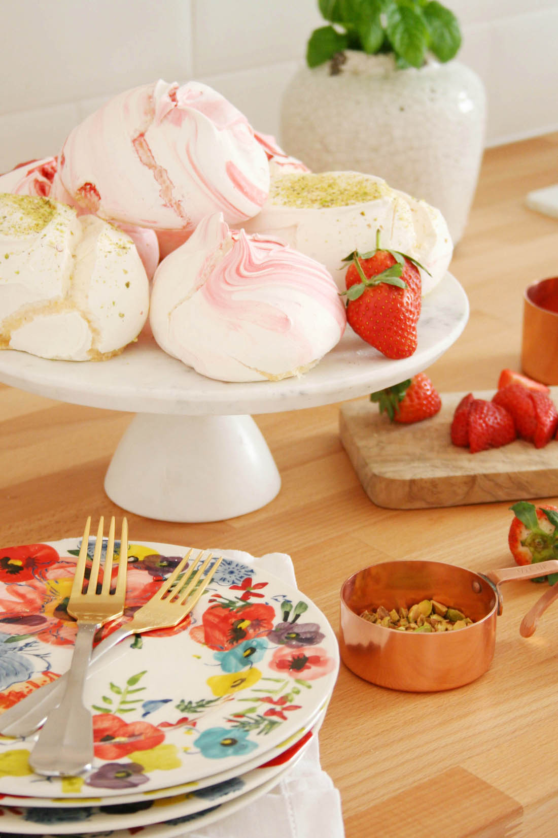 91 Magazine Anthropolgie collaboration   Summer kitchen updates   Apartment Apothecary