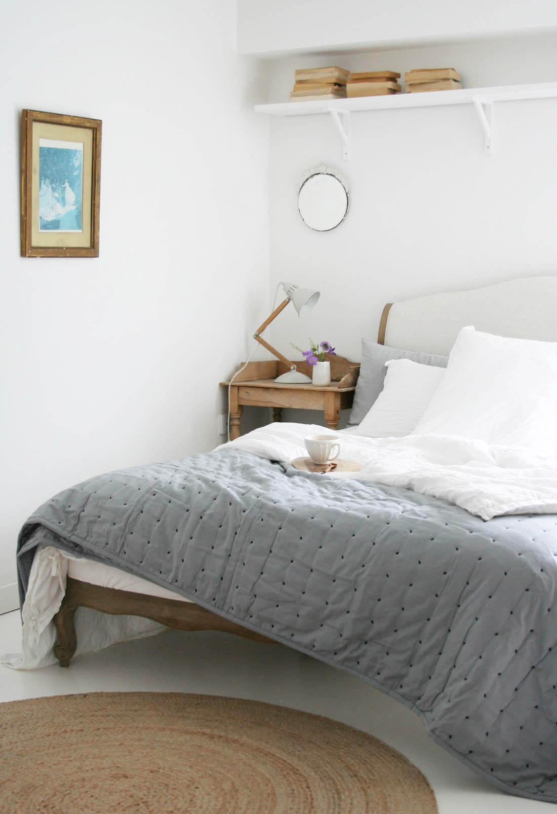 Dwell Lexington quilt | Bedroom interior | Apartment Apothecary