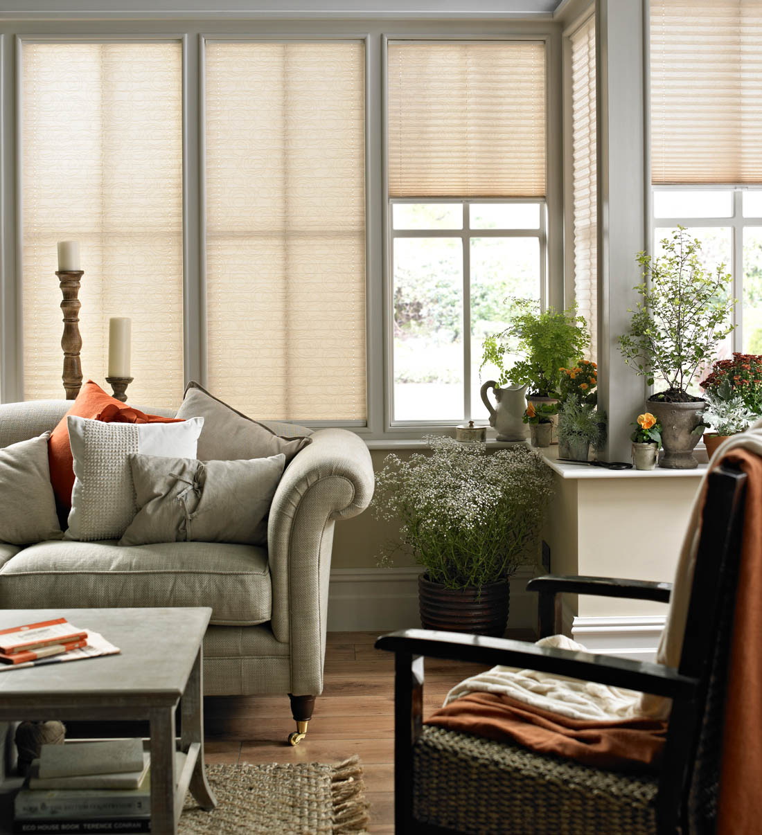 How to make your conservatory a part of your home | Conservatory blinds and shutters | Apartment Apothecary