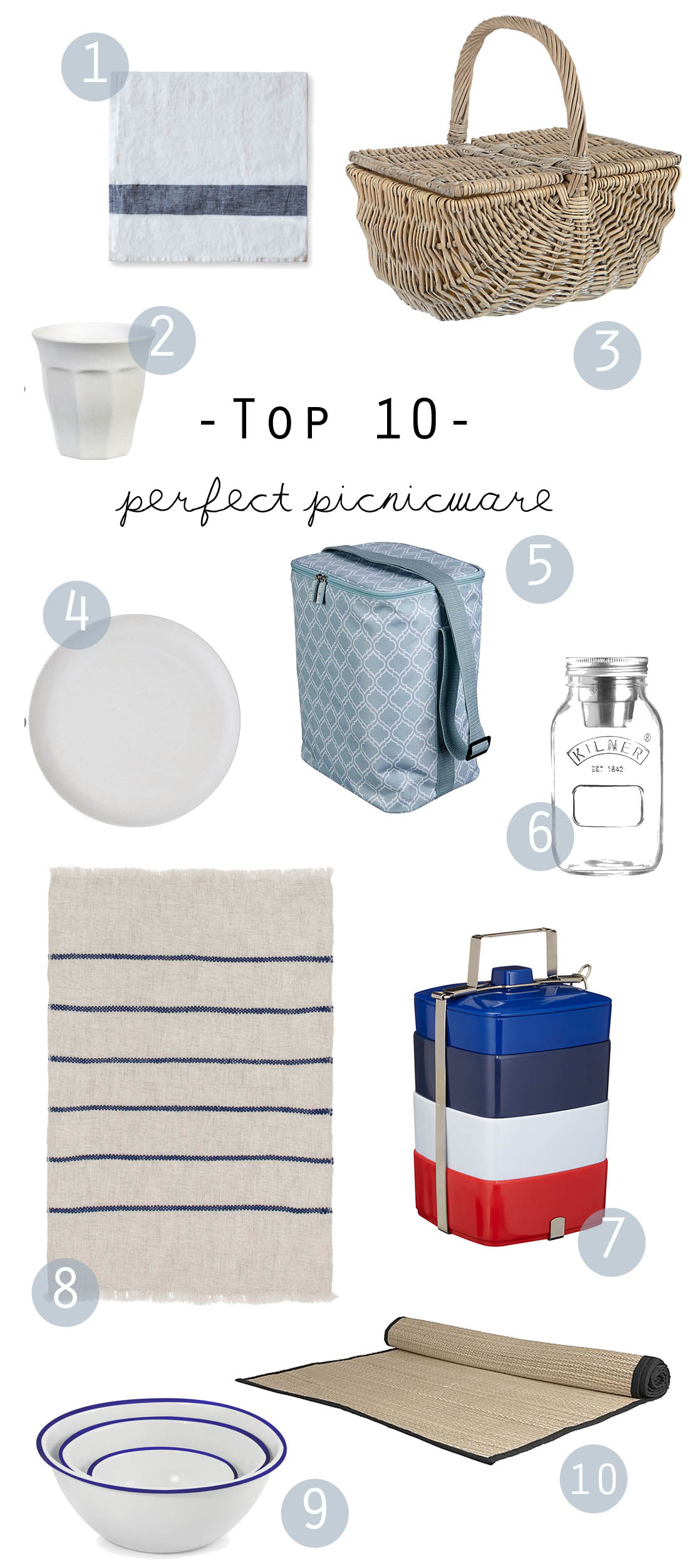 Perfect picnicware | Apartment Apothecary