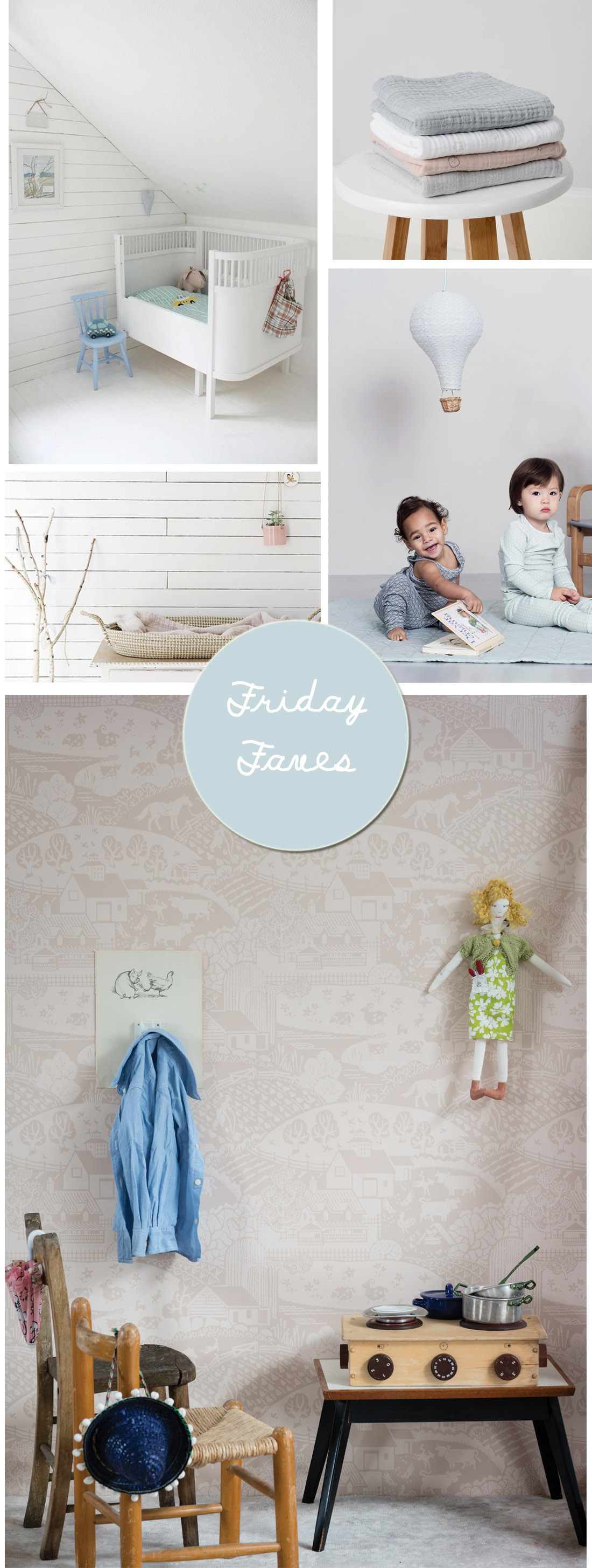 Friday faves | Nursery inspiration | Apartment Apothecary