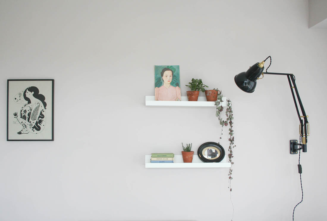 Wall mounted Angle Poise | Houseology lighting giveaway | Apartment Apothecary
