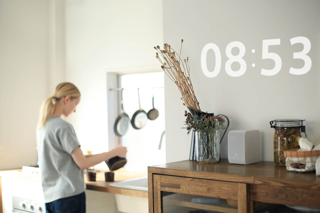Sony portable ultra short throw projector | Beautiful technology for the home | Apartment Apothecary