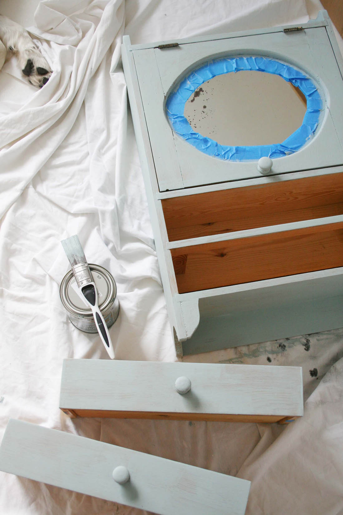 Tips for painting wooden furniture | Apartment Apothecary