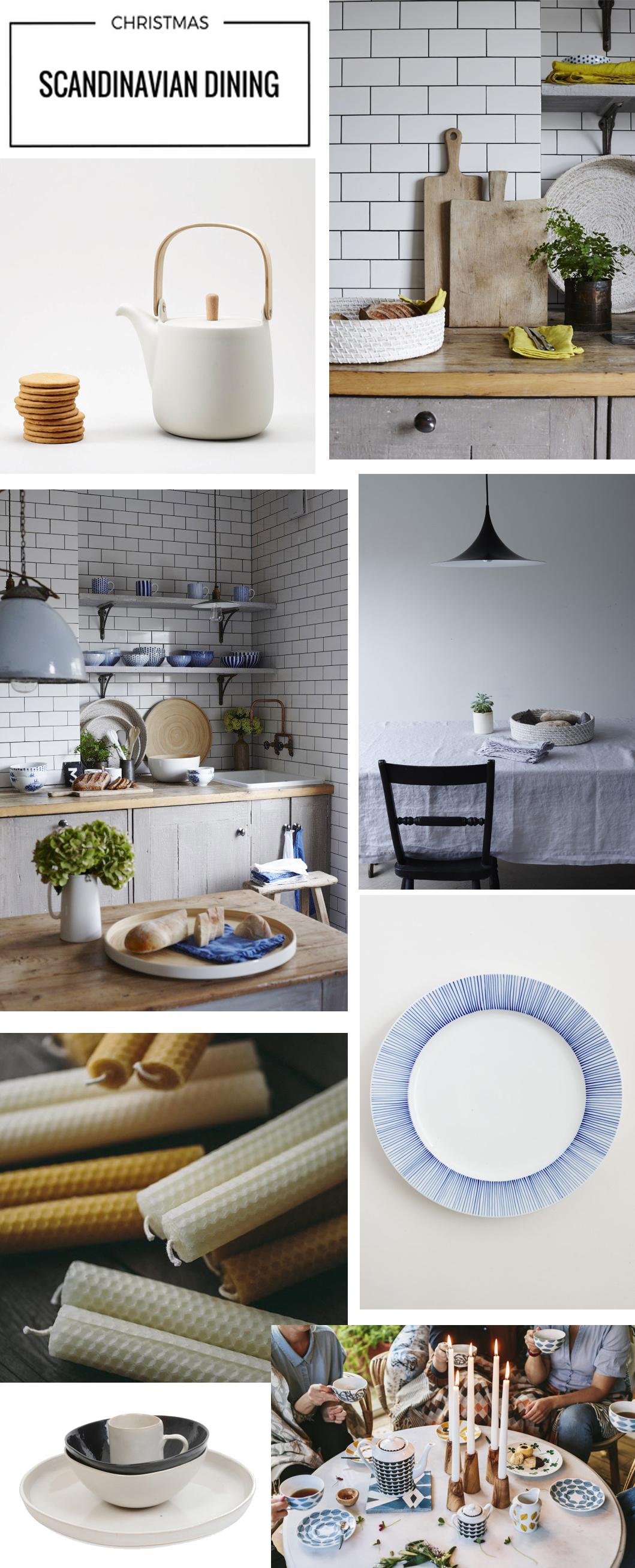 Scandinavian Christmas dining | ALSO Home | Scandinavian tableware | Apartment Apothecary