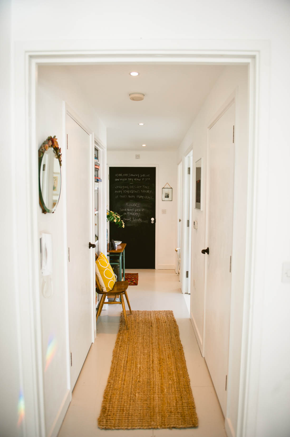 Five common lighting problems and how to solve them | Hallway lighting | Apartment Apothecary