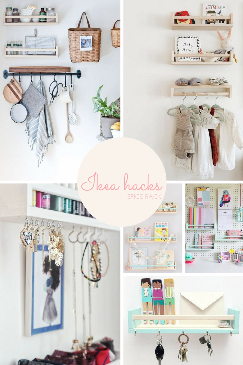 Bekvam spice rack IKEA hacks | Apartment Apothecary