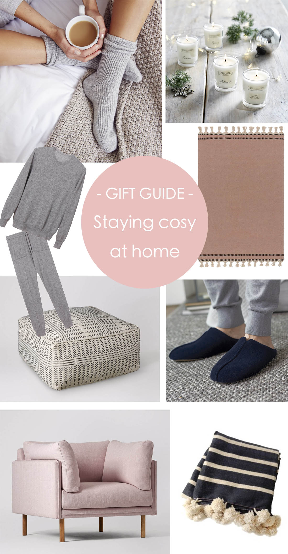 Christmas gift guide - cosying up at home | Apartment Apothecary |
