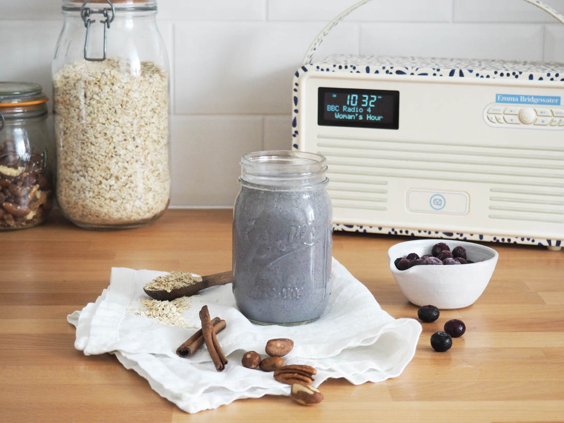 Blueberry smoothie recipe | Emma Bridgewater radio | Morning rituals | Apartment Apothecary